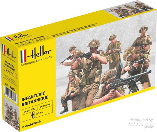 Heller - Infanterie Britannique