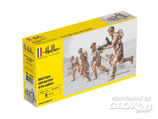 Heller - Britische Infanterie 8. Armee
