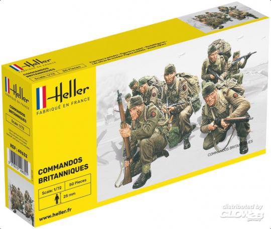 Heller - Britische Kommandotruppen