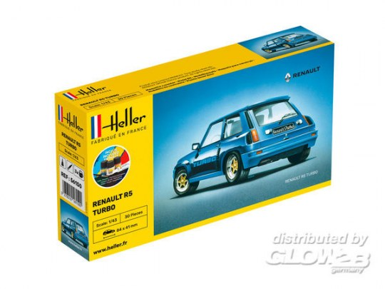 Heller - STARTER KIT Renault R5 Turbo