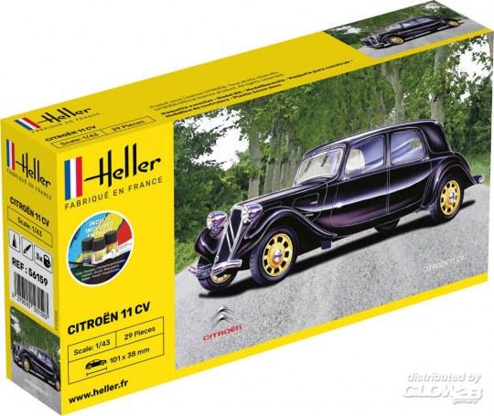 Heller - STARTER KIT Citroen 11 CV
