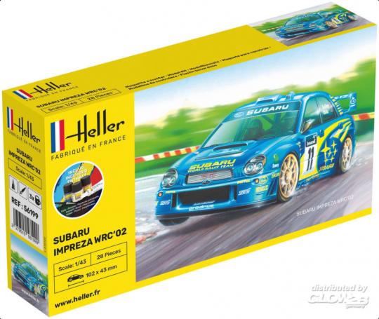 Heller - STARTER KIT Impreza WRC'02