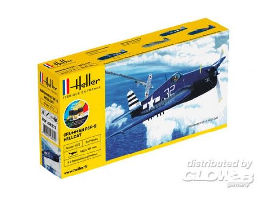 Heller - STARTER KIT F6F Hellcat