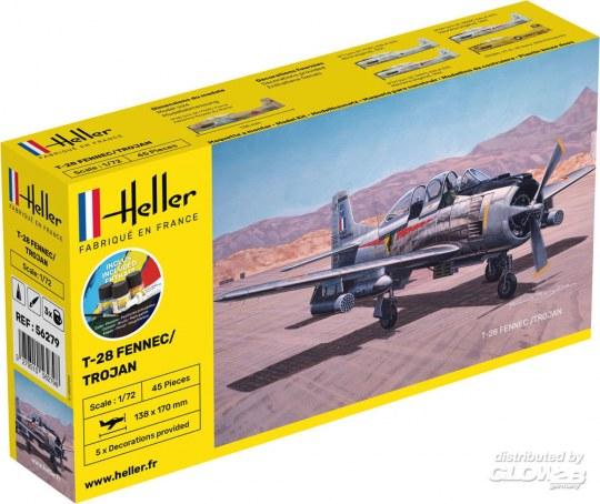 Heller - STARTER KIT T-28 FENNEC /TROJAN