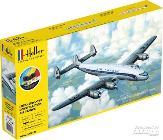 Heller: STARTER KIT L-749 Constellation A.F.