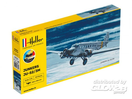 Heller - STARTER KIT Ju-52/3m