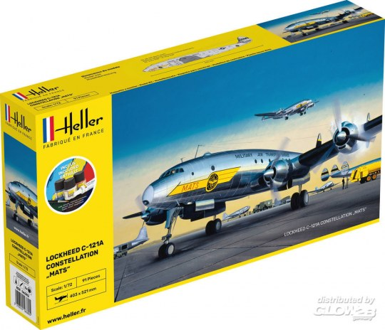 "Heller - STARTER KIT C-121A constellation ""MATS"""