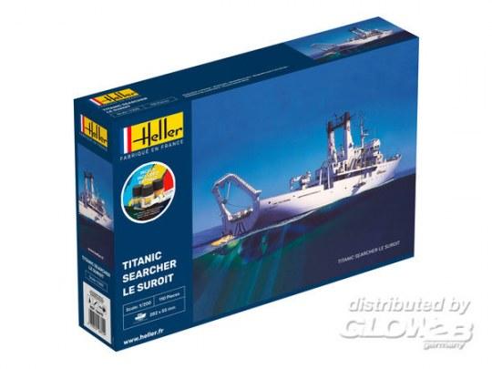 "Heller - STARTER KIT Titanic Searcher ""Le Suroit"""