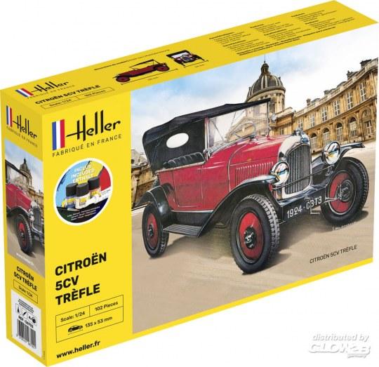 Heller - STARTER KIT Citroen Trefle