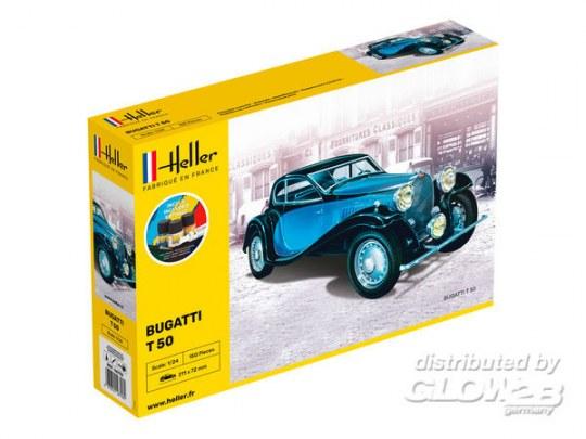 Heller - STARTER KIT Bugatti T 50