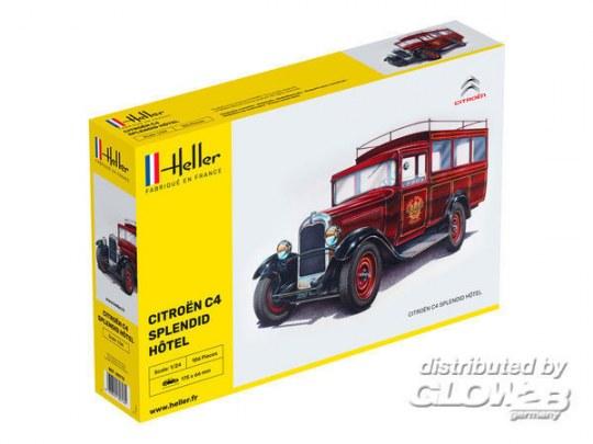 """Heller - STARTER KIT Citroen C4 """"Splendid Hotel"""