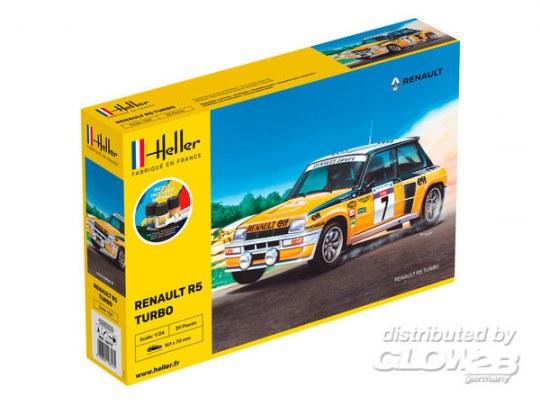 Heller - STARTER KIT Renault R5 Turbo