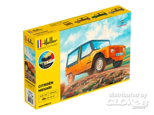 Heller - STARTER KIT Citroen Mehari (Version 1)