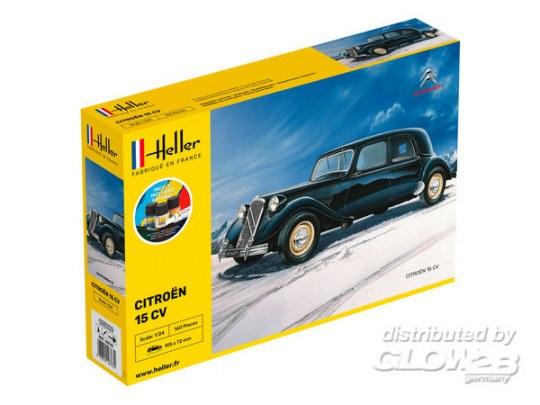 Heller - STARTER KIT Citroen 15 CV