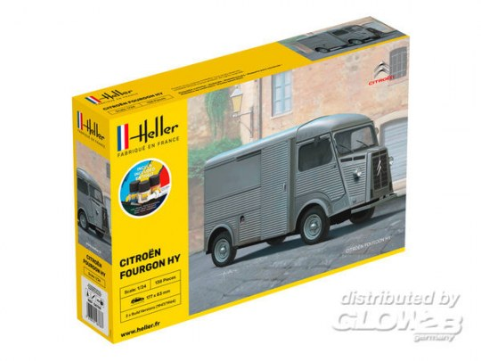 "Heller - STARTER KIT Citroen Fourgon Hy ""Tube"