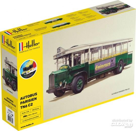 Heller - STARTER KIT Autobus TN6 C1