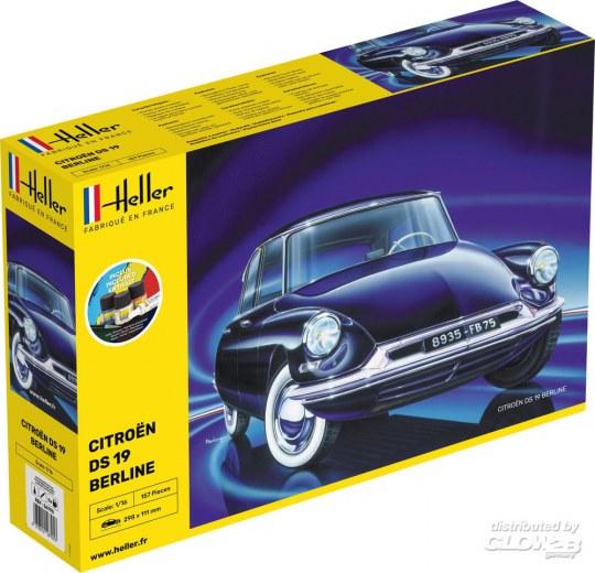 Heller - STARTER KIT Citroen DS 19