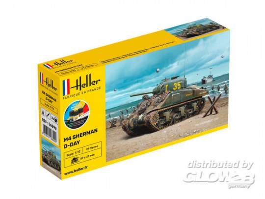 Heller - STARTER KIT Sherman