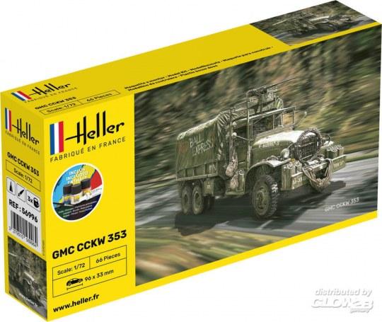 Heller - STARTER KIT GMC CCKW 352