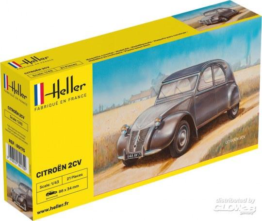 Heller - Citroen 2 CV