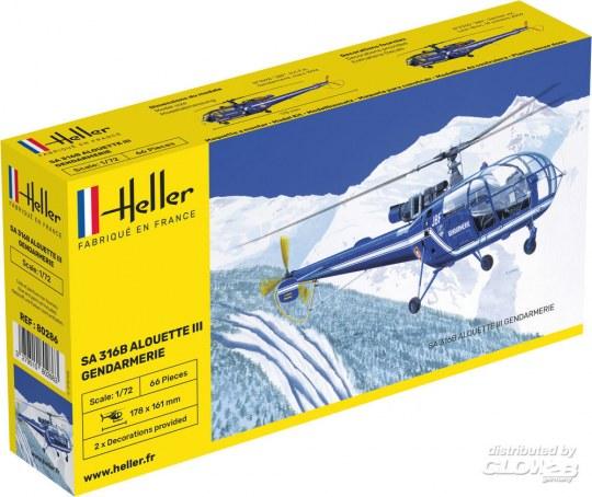 Heller - SA 316 Alouette III Gendarmerie