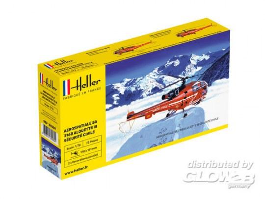 Heller - Alouette III Sécurité Civile