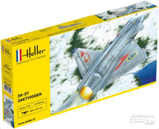 Heller - Ja-37 Jaktviggen