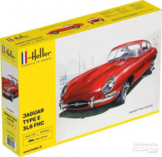 Heller - Jaguar Type E 3L8 FHC