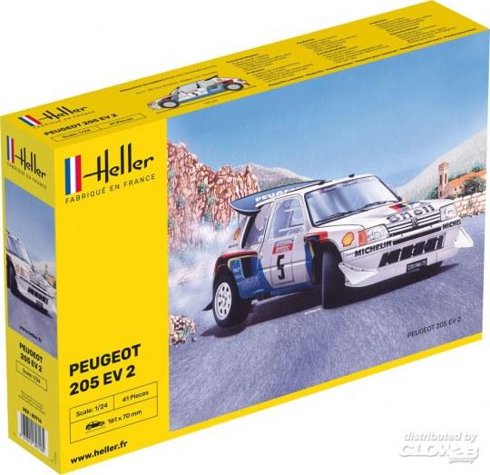 Heller - Peugeot 205 EV 2