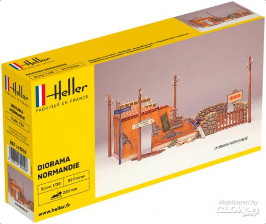 Heller - Diorama Normandie