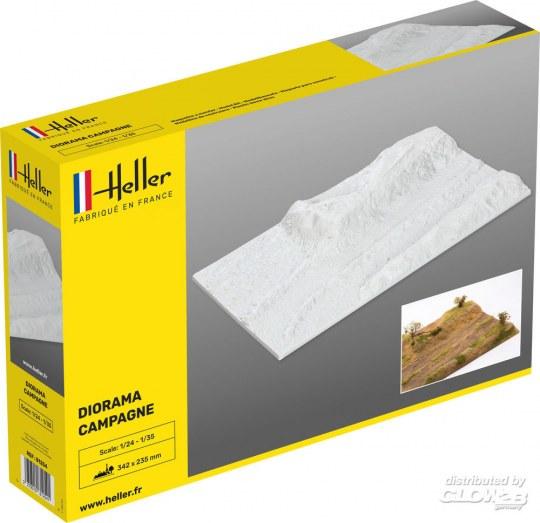 Heller - Socle Diorama Campagne