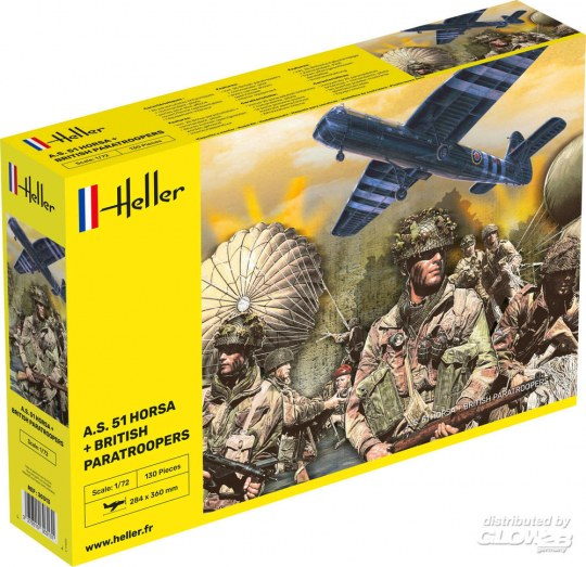Heller A.S. 51 Horsa + Paratroopers