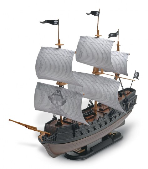The Black Diamond Pirate Ship