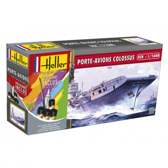 Heller - Porte-Avions Colossus