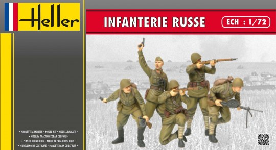Heller - Infanterie Russe
