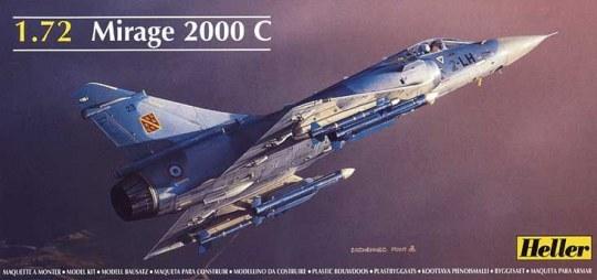 Heller - Dassault Mirage 2000 C