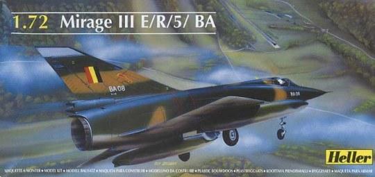 Heller - Dassault Mirage III E