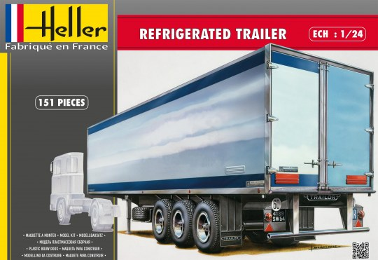 Heller - Refrigerated trailer