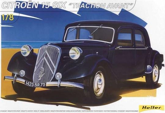 Heller - Citroën 15 SIX ''Traction Avant''