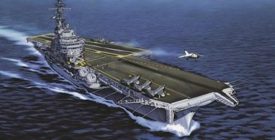 Heller - Flugzeugträger Foch