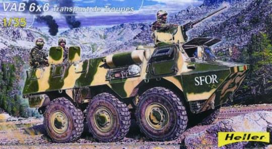 Heller - Truppentransporter VAB 6x6