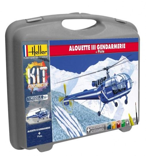 Heller - Alouette III Gandarmerie (+ piste)
