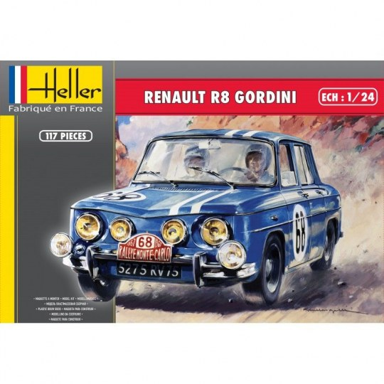 Heller - Renault R8 Gordini