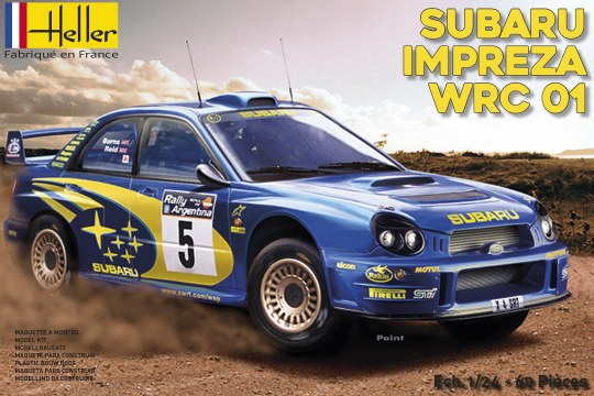 Heller - Subaru Impreza WRC'01