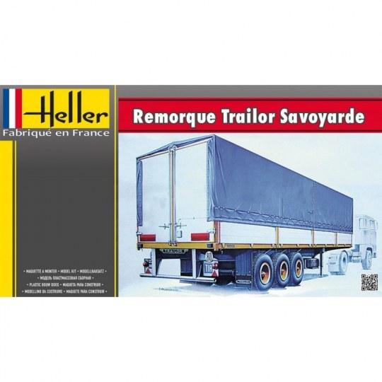 Heller - Remoroque Trailor Savoyarde