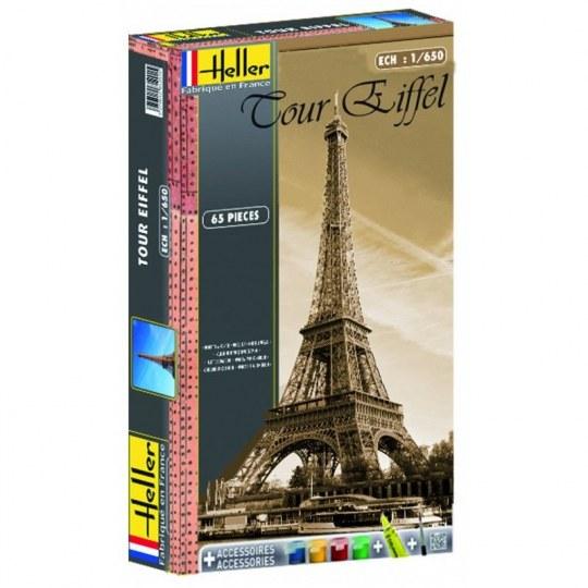 Heller - Coffret Tour Eiffel(peinture,colle et pi pinceau fournis)