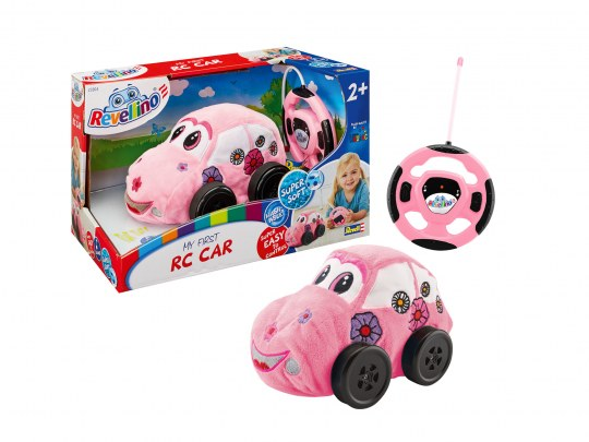 My first RC Flower Car Pink