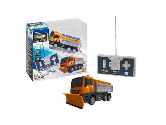 Mini RC MAN TGS 28.430 Winter Service Truck