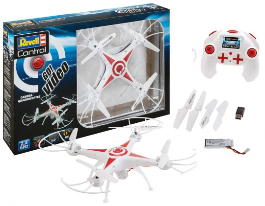 "Quadcopter ""GO! VIDEO"""