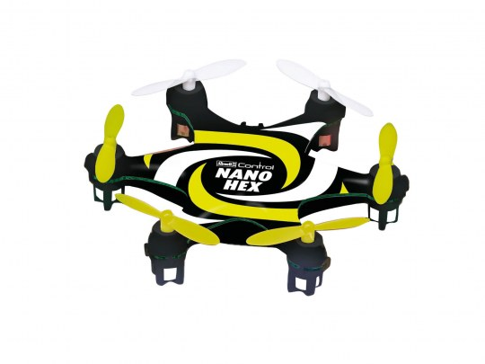 "Multicopter ""NANO HEX"" schwarz-g"